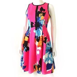 Ultra bright color VINCE CAMUTO neoprene dress